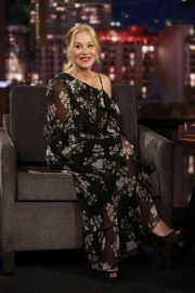 Christina Applegate - Visits Jimmy Kimmel Live in Hollywood