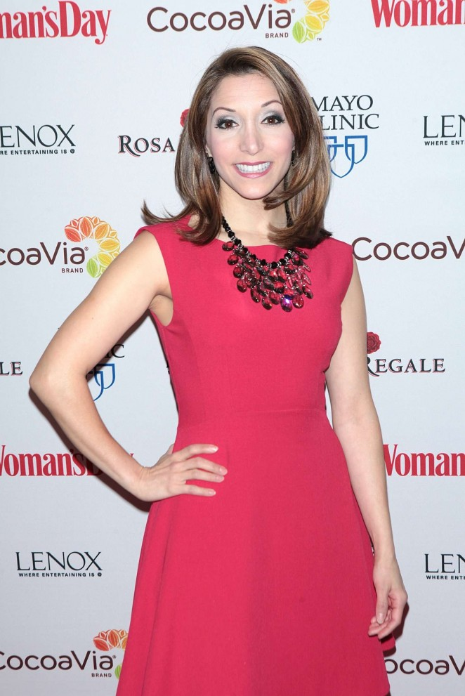 Christina Bianco - Woman's Day 13th Annual Red Dress Awards in New York