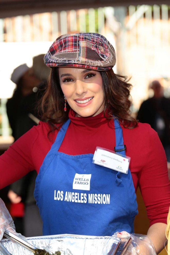 Christina DeRosa - 2016 Annual Thanksgiving Dinner Celebration in LA