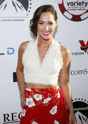 Christina Elizabeth Smith - Variety Charity Texas Hold 'Em Poker Tournament in LA