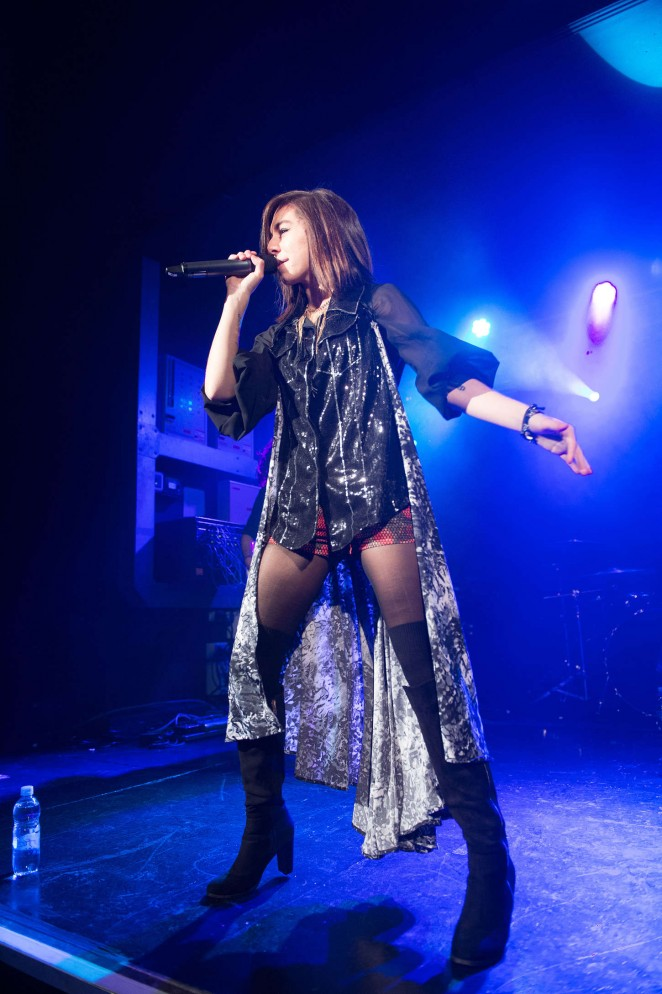 Christina Grimmie - Performs at O2 Academy in Birmingham