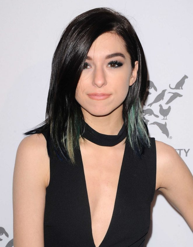 Christina Grimmie - The Humane Society Of The United States To The Rescue Gala in Hollywood