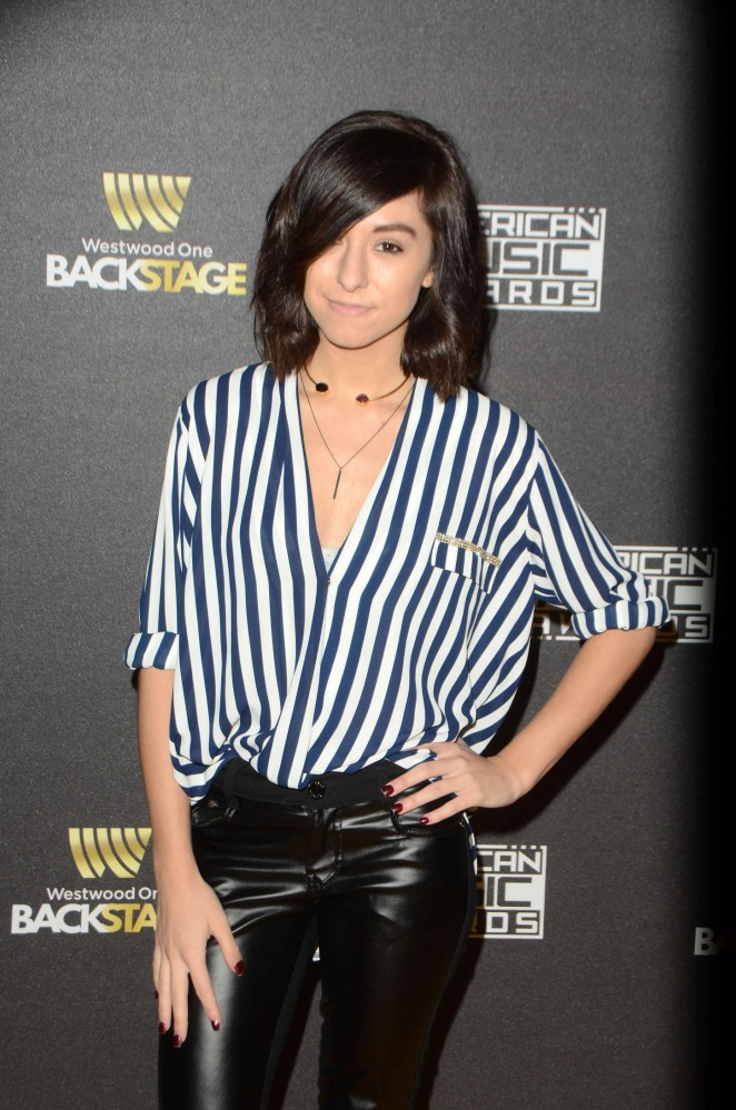 Christina Grimmie – Westwood One presents the American Music Awards Radio Row Day 1 in LA