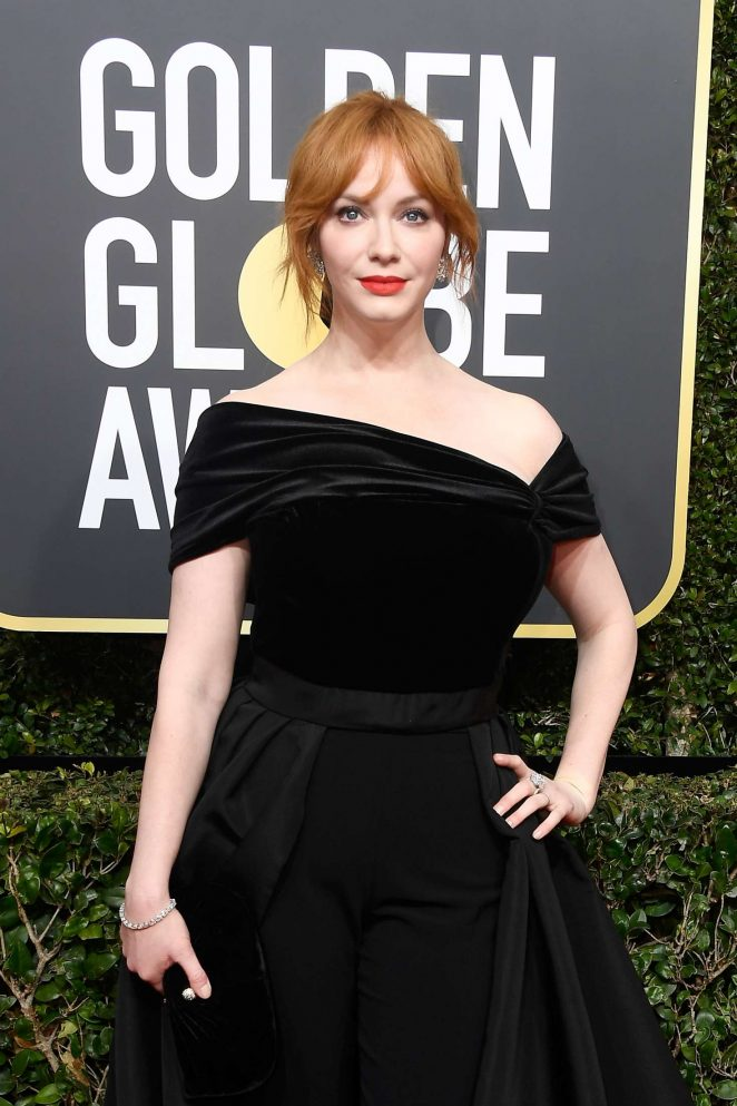 Christina Hendricks - 2018 Golden Globe Awards in Beverly Hills