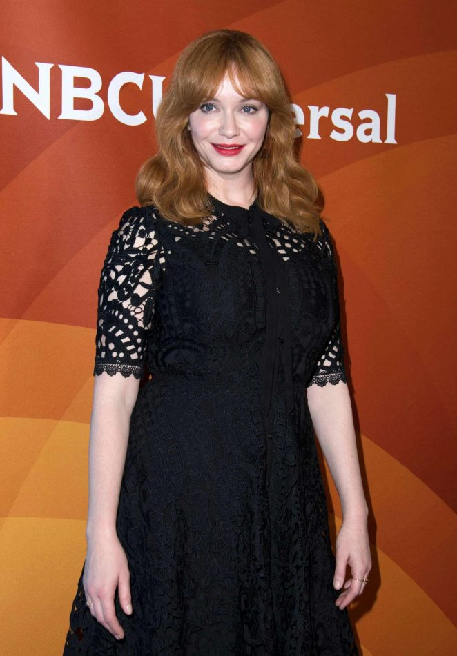 Christina Hendricks - 2018 NBC Universal TCA Winter Press Tour in Pasadena