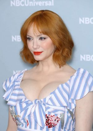 Christina Hendricks - 2018 NBCUniversal Upfront Presentation in NYC