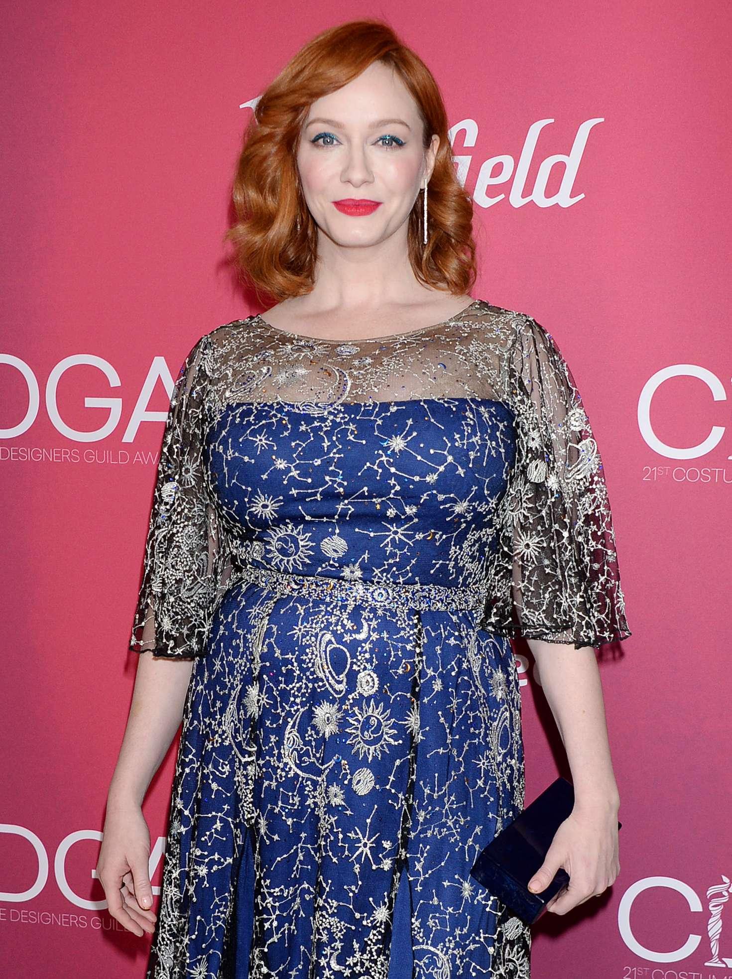 Christina Hendricks - 2019 Costume Designers Guild Awards in LA