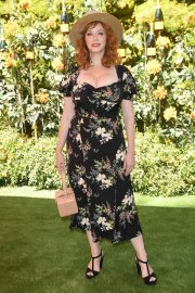 Christina Hendricks - 2019 Veuve Clicquot Polo Classic in Los Angeles
