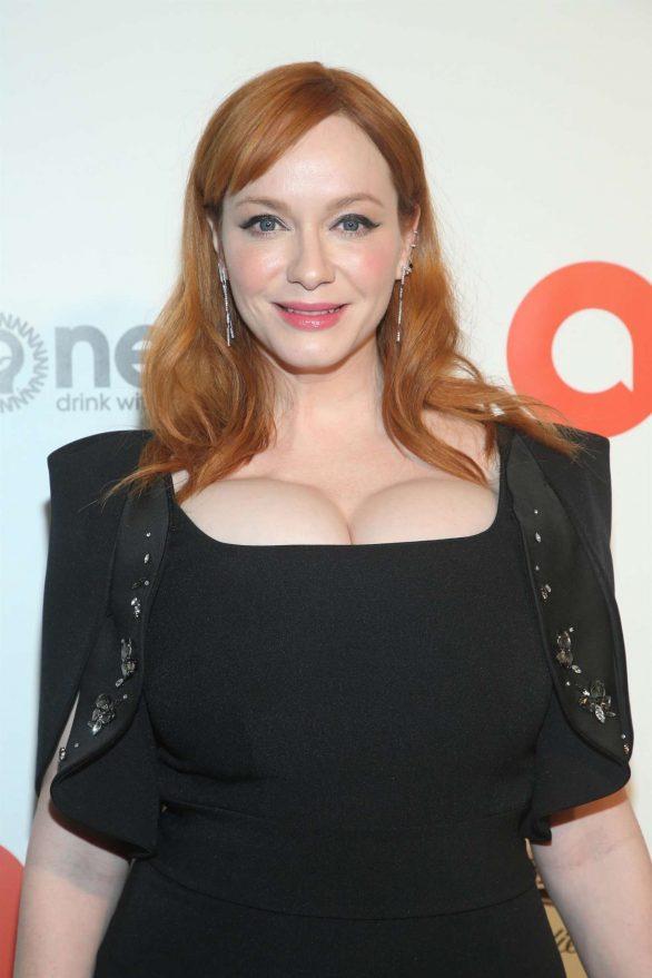 Christina Hendricks - 2020 Elton John AIDS Foundation Oscar Viewing Party in LA