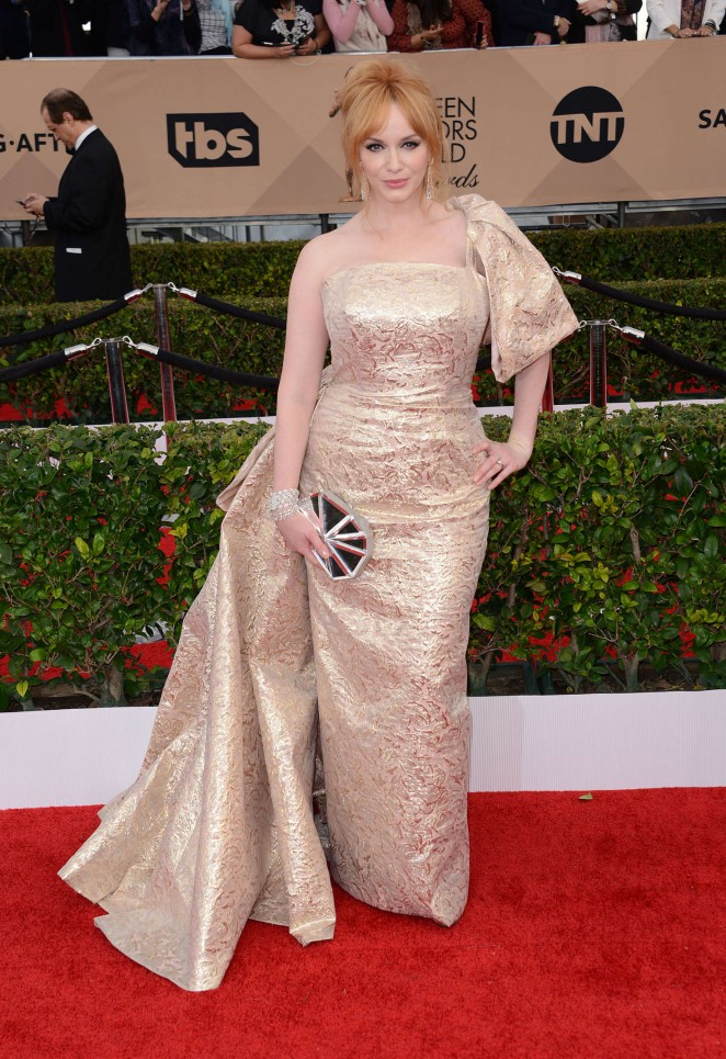 Christina Hendricks - 2016 SAG Awards in Los Angeles