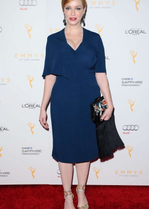 Christina Hendricks - 2015 Emmy Awards Performers Nominee in Beverly Hills