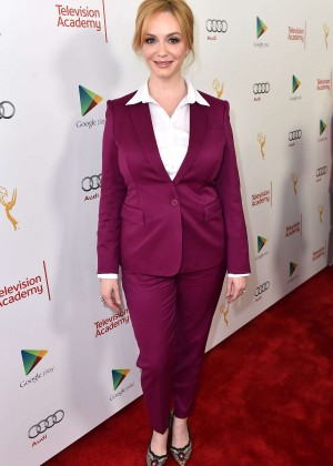 Christina Hendricks - A Farewell to 'Mad Men' Presented by the Television Academy in Hollywood