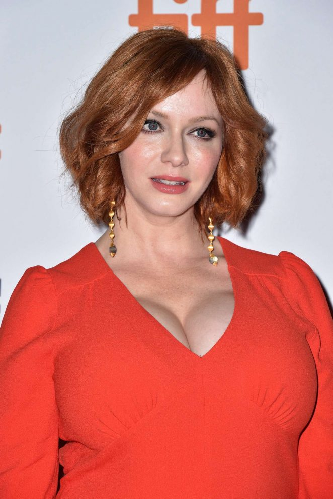 Christina Hendricks – 'American Women' Screening – 2018 TIFF in Toronto
