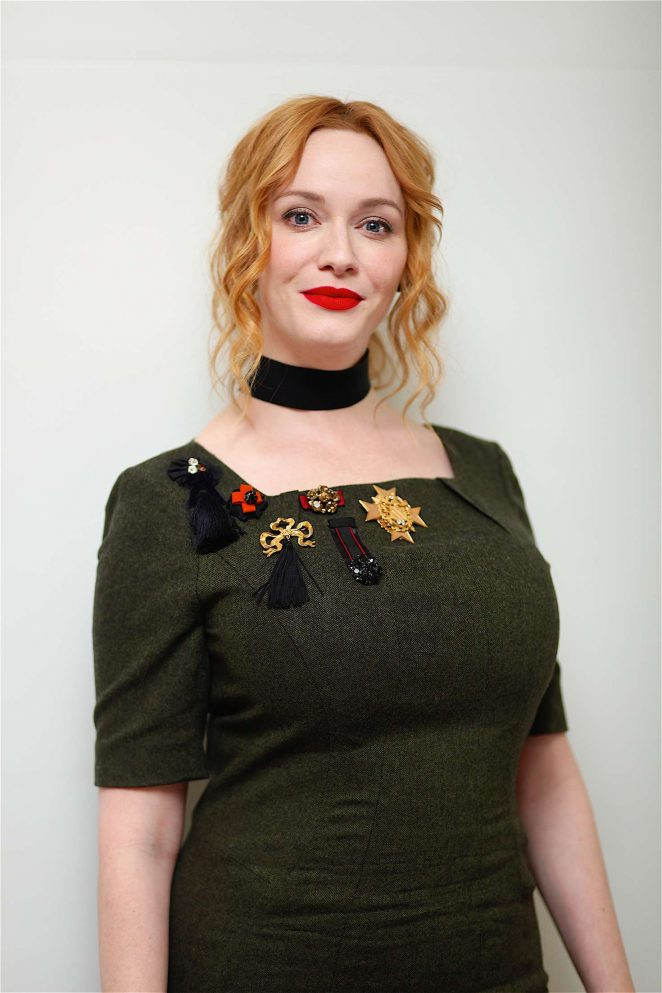 Christina Hendricks - 'Bad Santa' Press Conference in Beverly Hills