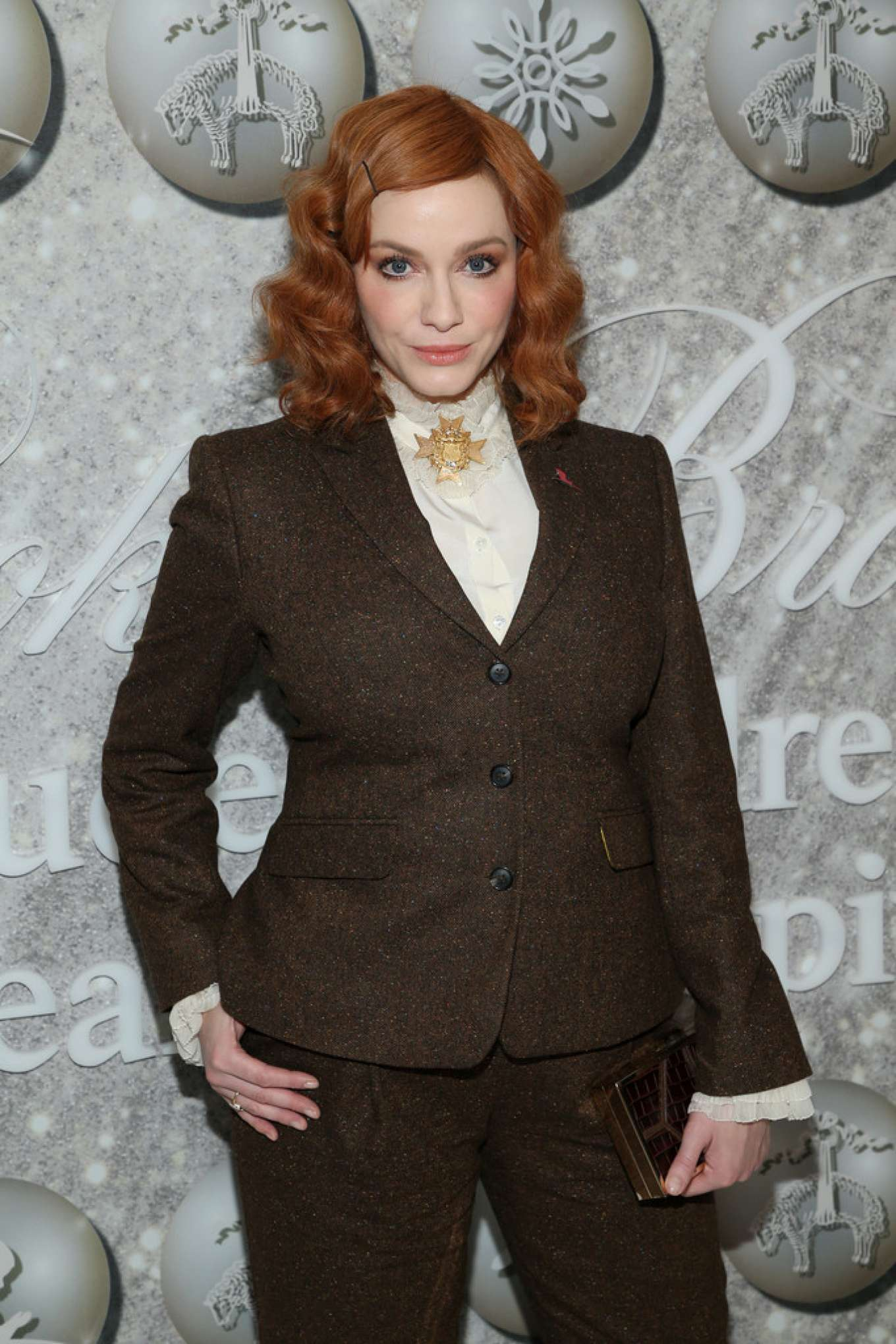 Christina Hendricks - Brooks Brothers Annual Holiday Celebration in West Hollywood