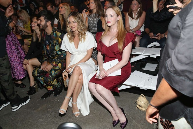 Christina Hendricks: Christian Siriano Fashion Show Spring 2016 -04