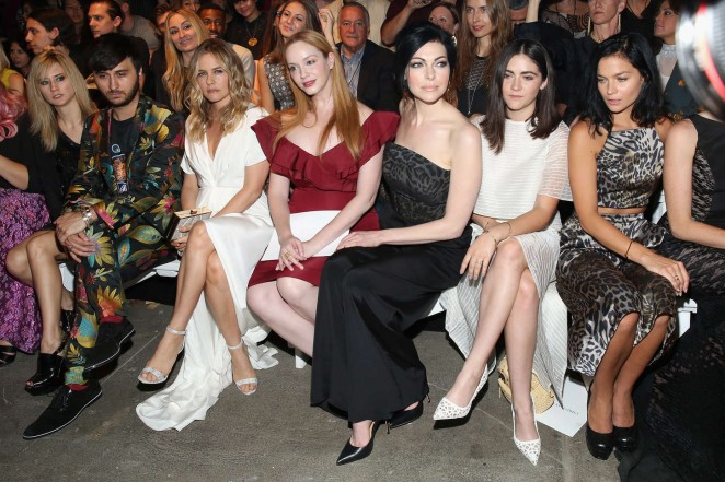 Christina Hendricks: Christian Siriano Fashion Show Spring 2016 -12
