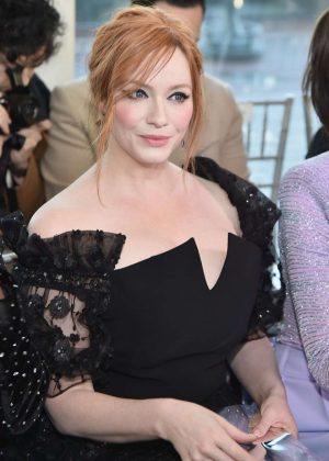 Christina Hendricks - Christian Siriano Show in New York