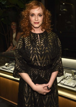 Christina Hendricks - David Yurman Soho Boutique Grand Opening Benefit Event in NY