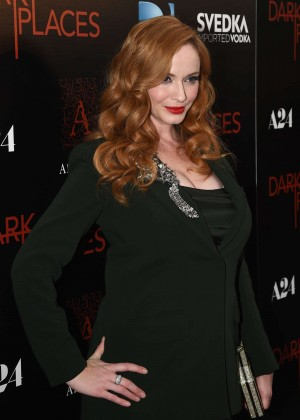 Christina Hendricks - DIRECTV's Dark Places Premiere in LA