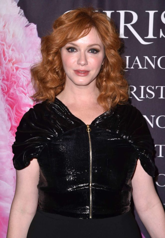 Christina Hendricks - 'Dresses To Dream About' Book Release in NYC