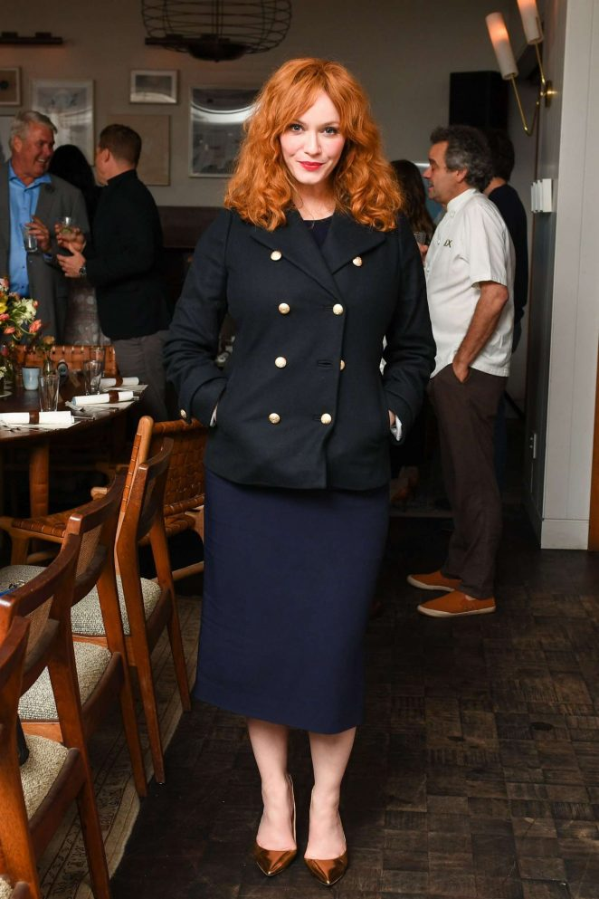 Christina Hendricks - 'Edible Land And Seascapes' Presented by Black Cow Vodka in LA