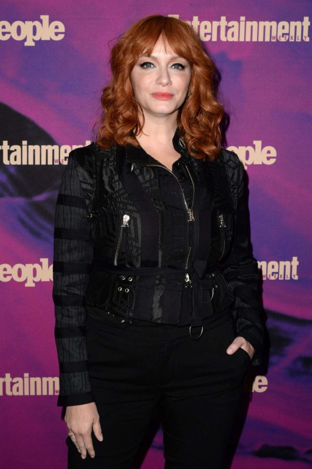 Christina Hendricks - Entertainment Weekly & PEOPLE New York Upfronts Party in NY