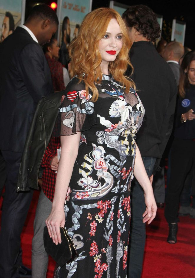 Christina Hendricks - 'Fist Fight' Premiere in Los Angeles