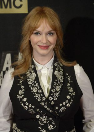 Christina Hendricks - 'Hap and Leonard' Premiere in Madrid