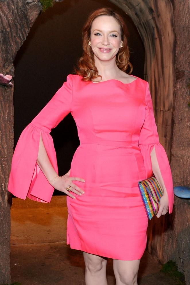 Christina Hendricks - Honor Fashion Show 2015 in NYC