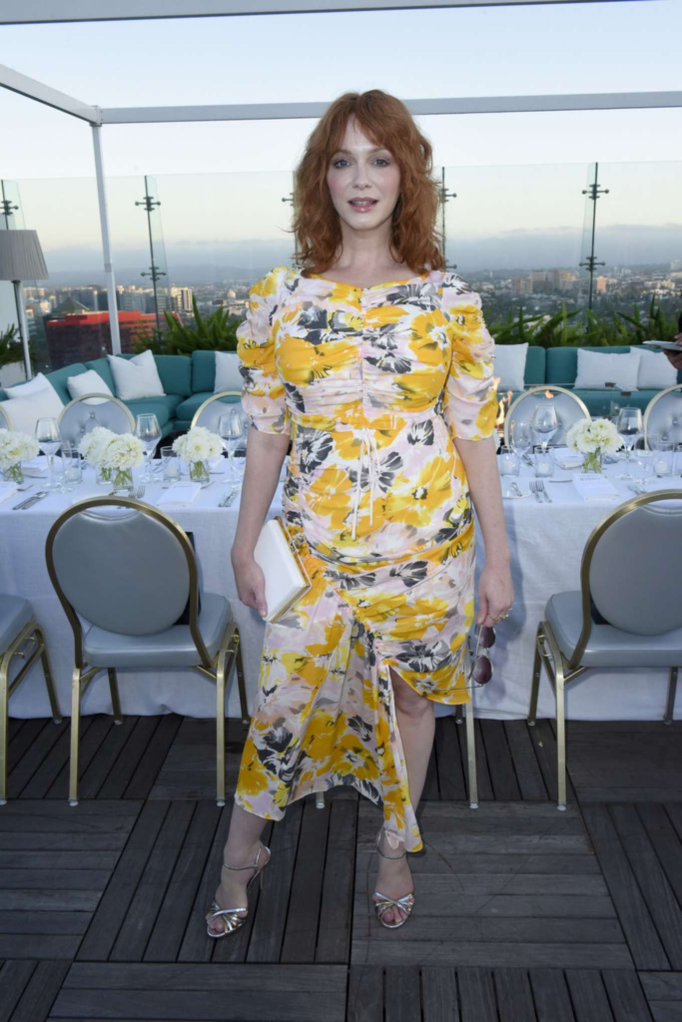 Christina Hendricks 2019 : Christina Hendricks – InStyles Badass Women Dinner With Foster Grant in West Hollywood-01