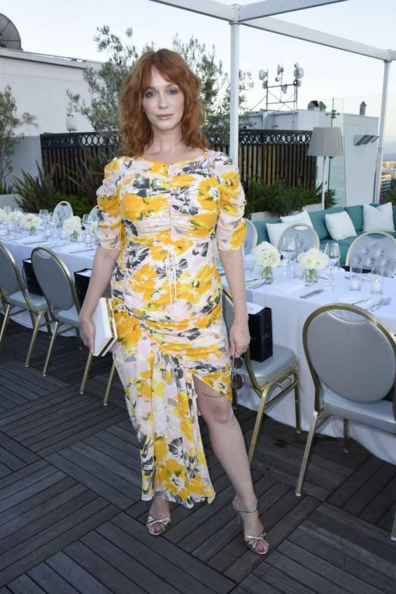Christina Hendricks - InStyle's Badass Women Dinner With Foster Grant in West Hollywood
