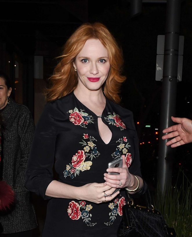 Christina Hendricks - 'Mad Men' TV Series Book Party in Los Angeles