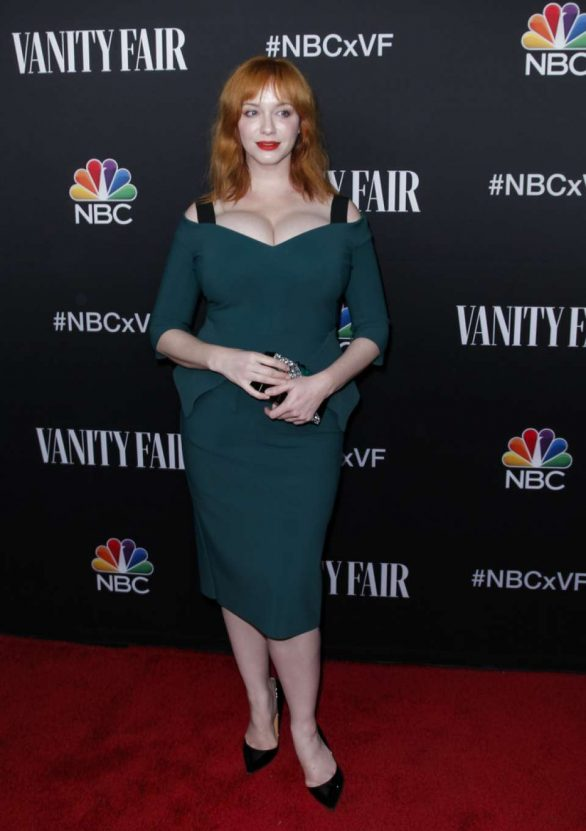 Christina Hendricks - NBC and Vanity Fair's Celebration Of The Season in Los Angeles