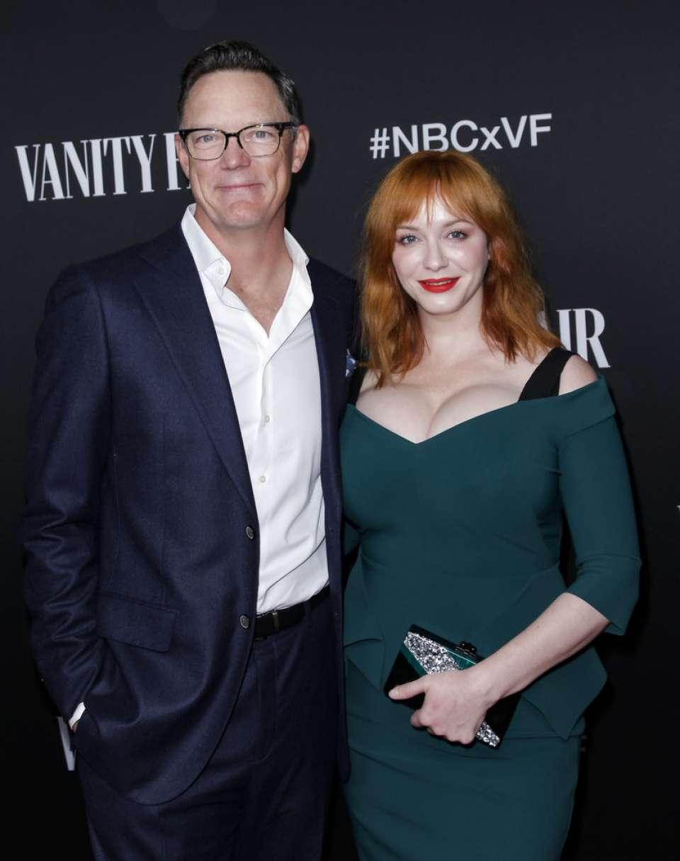 Christina Hendricks 2019 : Christina Hendricks – NBC and Vanity Fairs Celebration Of The Season-04