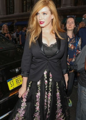 Christina Hendricks out and about in New York City