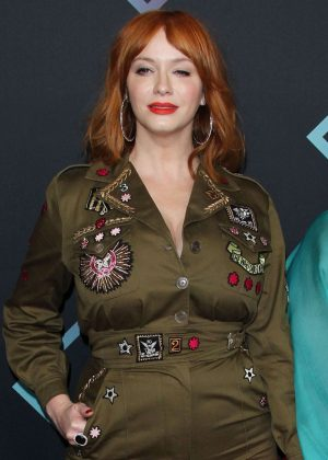 Christina Hendricks - People's Choice Awards 2018 in Santa Monica