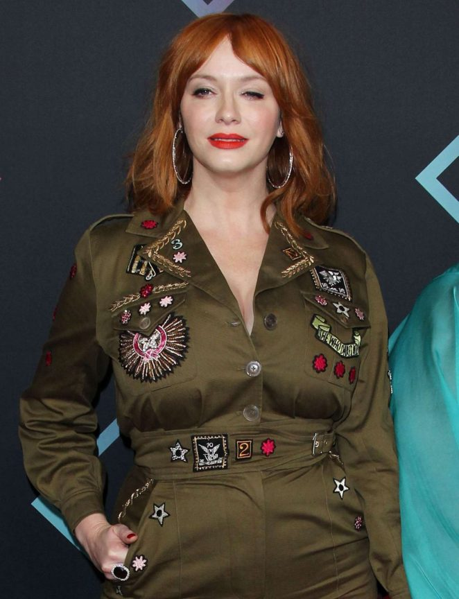 Christina Hendricks – People's Choice Awards 2018 in Santa Monica