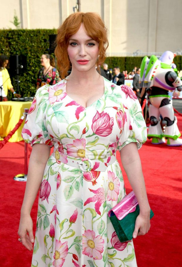 Christina Hendricks - Red carpet at 'Toy Story 4' premiere in Los Angeles