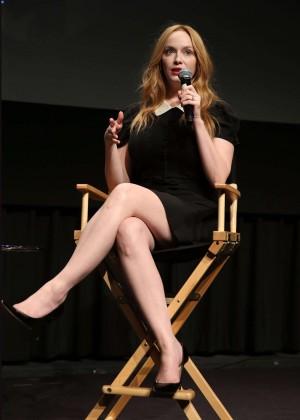 Christina Hendricks - SAG Foundation Conversations Series Presents Mad Men in NY