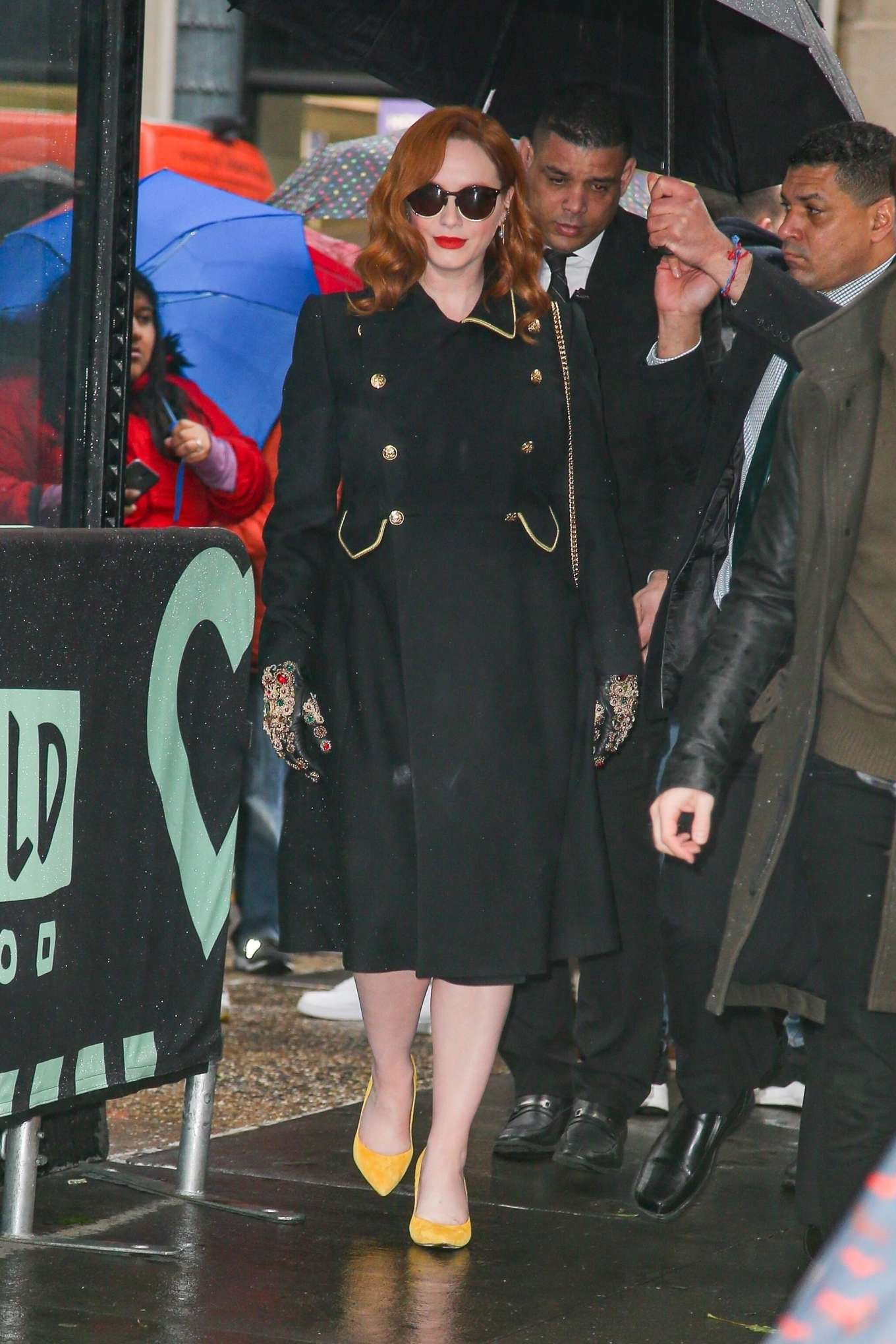Christina Hendricks 2020 : Christina Hendricks – Spotted at Build Series while promoting her work-01