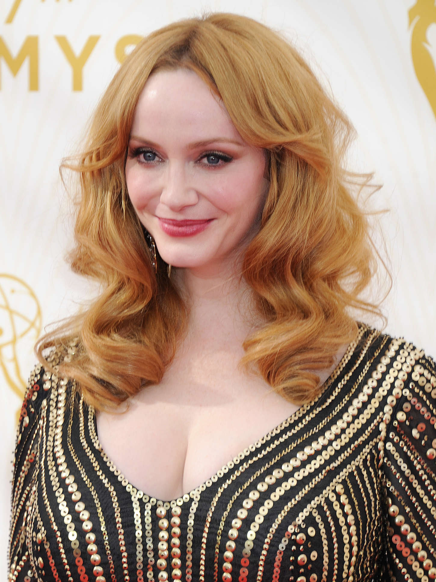 Christina Hendricks - 2015 Emmy Awards in LA