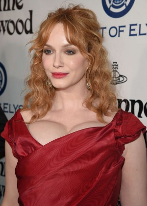 Christina Hendricks - The Art of Elysium 2016 HEAVEN Gala in Culver City