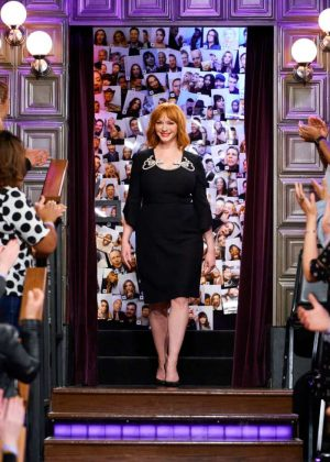 Christina Hendricks - 'The Late Late Show with James Corden' in LA