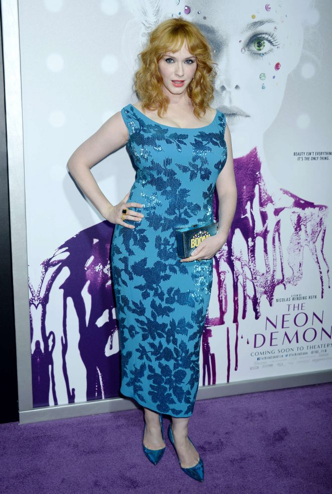 Christina Hendricks - 'The Neon Demon' Premiere in Los Angeles