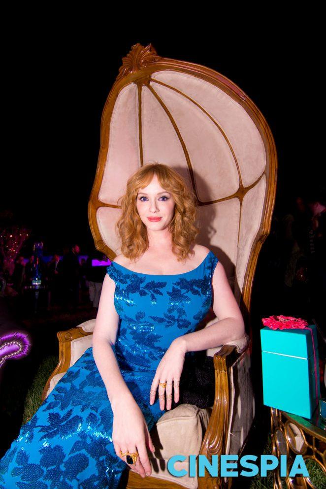 Christina Hendricks - 'The Neon Demon' Premiere Photobooth in Los Angeles
