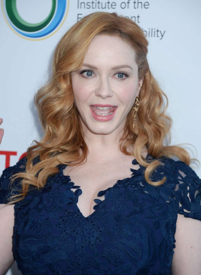 Christina Hendricks - UCLA Institute of the Environment and Sustainability Gala in Los Angeles