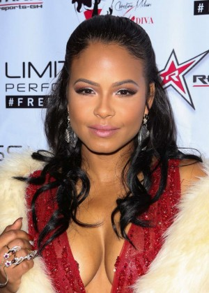 Christina Milian - 2015 Roadstarr Motorsports Holiday event in Beverly Hills