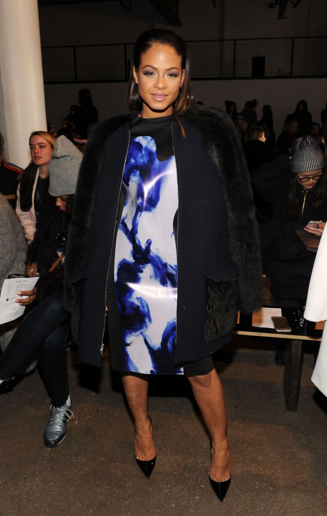 Christina Milian - Adeam Fashion Show 2015 in NYC