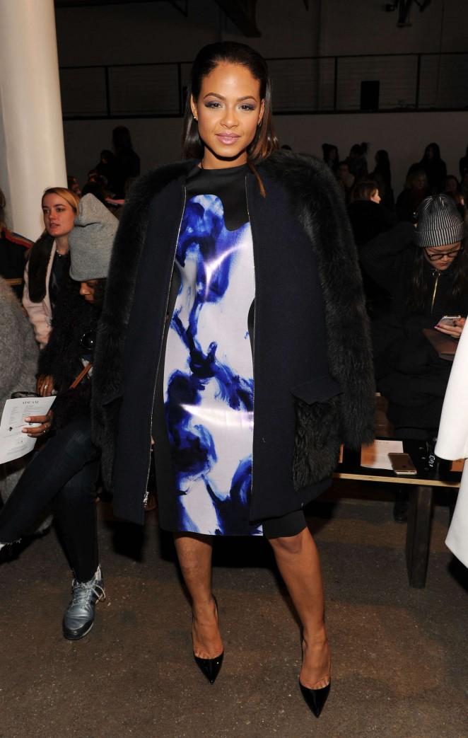 Christina Milian - Adeam Fashion Show 2015 in NYC